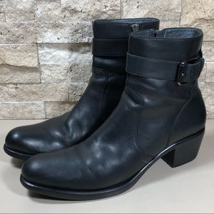Cole Haan Boots Women's Ankle Leather Black 8.5